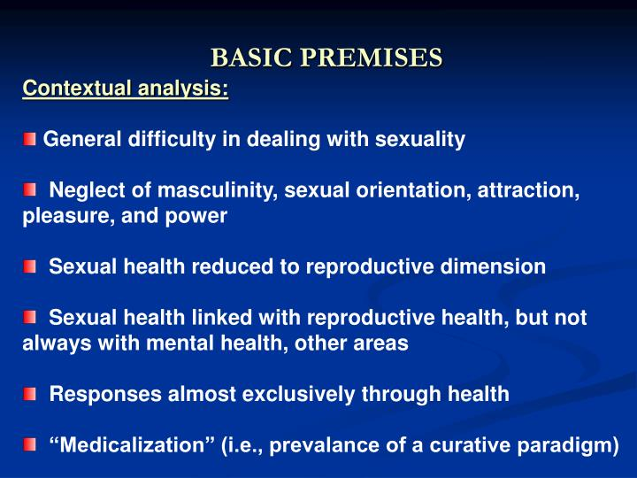 BASIC PREMISES