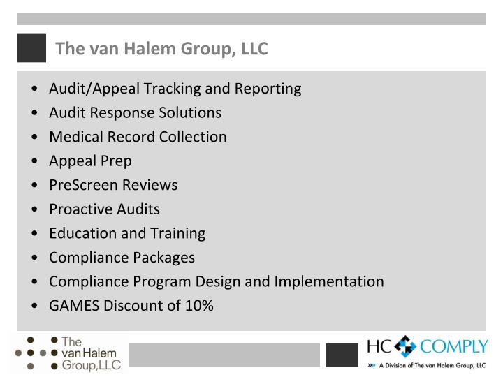 The van Halem Group, LLC
