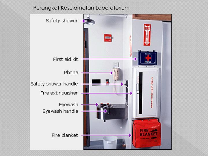 Perangkat Keselamatan Laboratorium