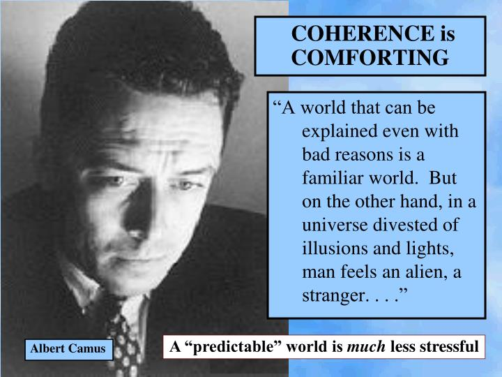 COHERENCE is COMFORTING