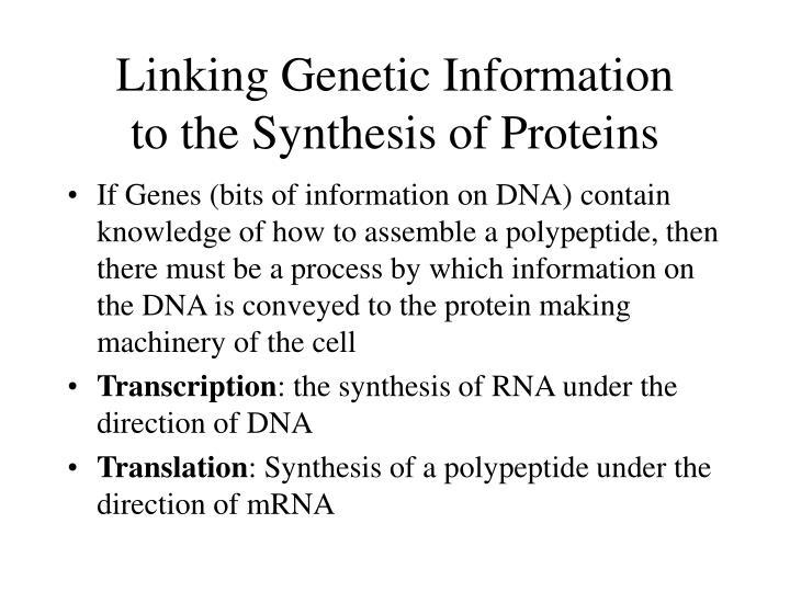 Linking Genetic Information