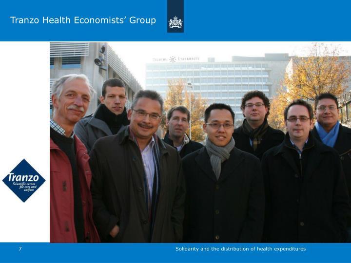 Tranzo Health Economists' Group