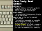 case study text editors1