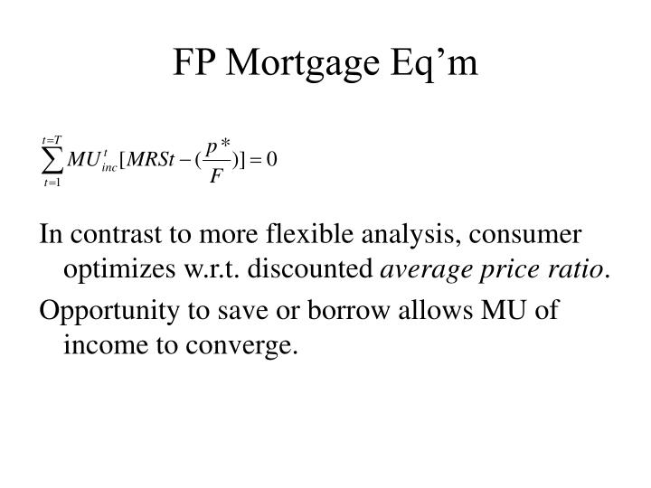 FP Mortgage Eq'm