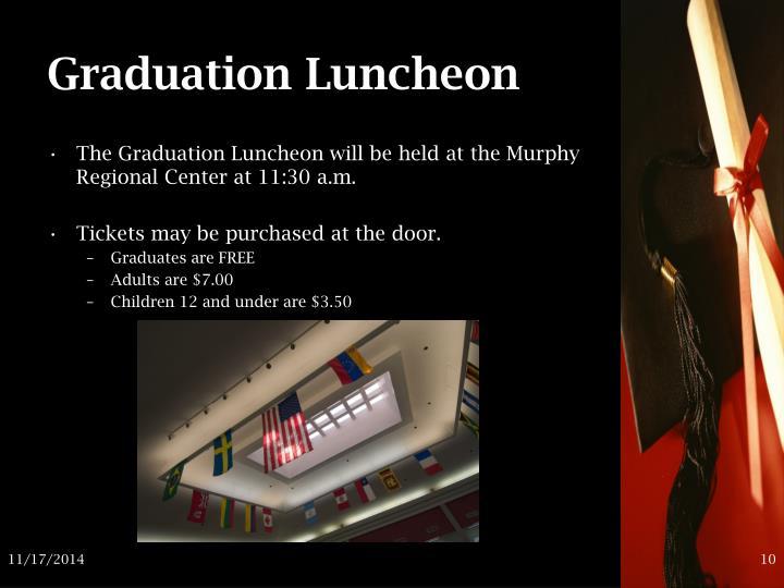Graduation Luncheon