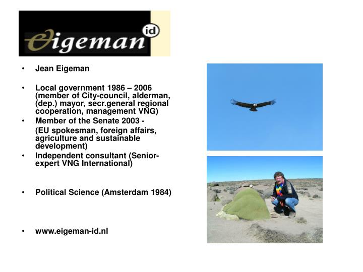 Jean Eigeman