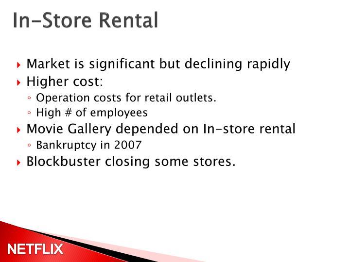 In-Store Rental