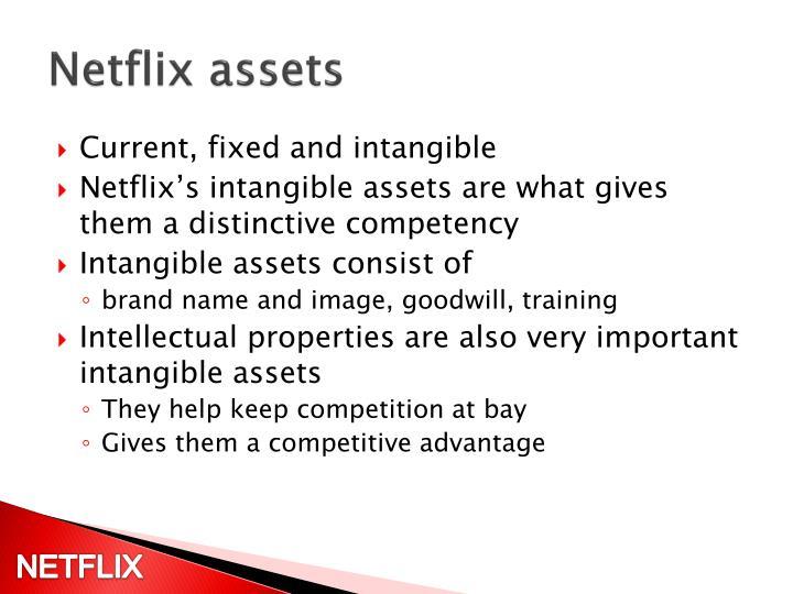 Netflix assets