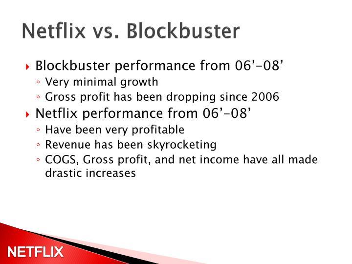 Netflix vs. Blockbuster