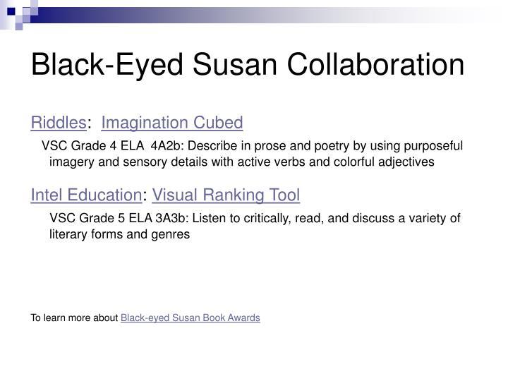 Black-Eyed Susan Collaboration