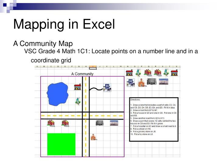 Mapping in Excel
