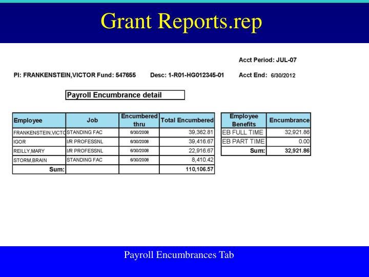 Grant Reports.rep