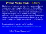 project management reports1