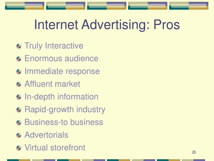 Internet Advertising: Pros