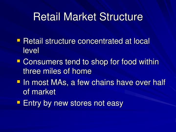 Retail Market Structure