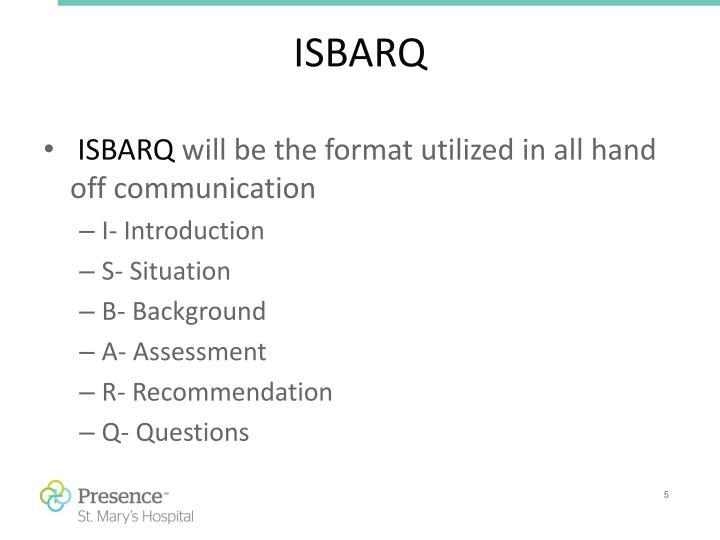 ISBARQ