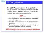 edtna guidelines