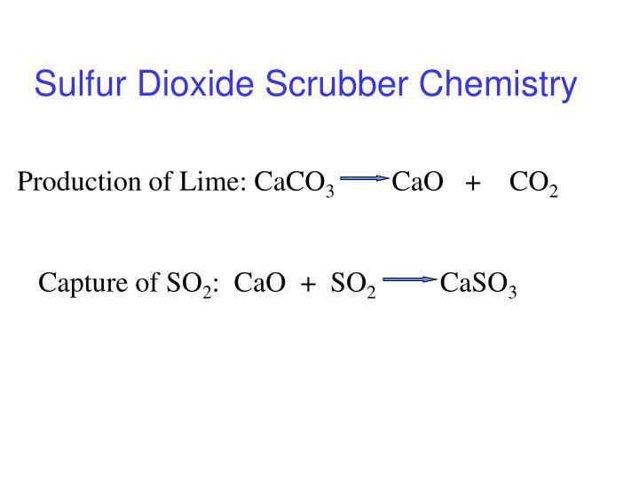 Sulfur Dioxide Scrubber Chemistry