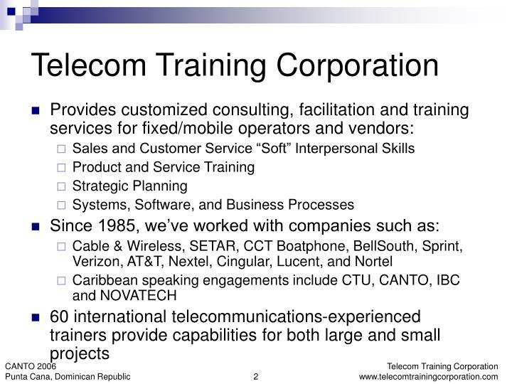 Telecom Training Corporation