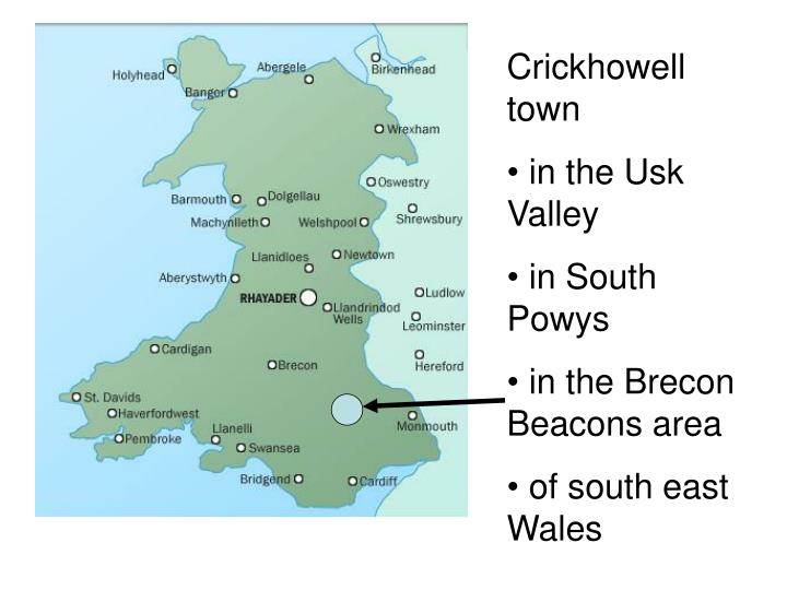 Crickhowell     town