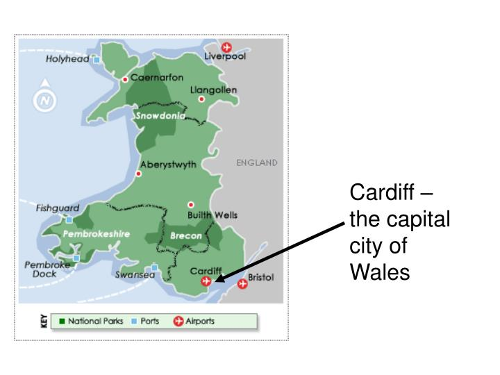 Cardiff – the capital city of Wales