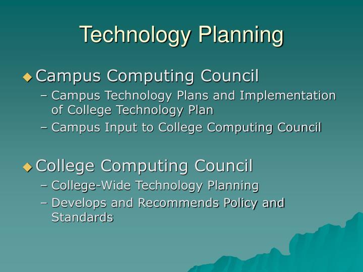 Technology Planning