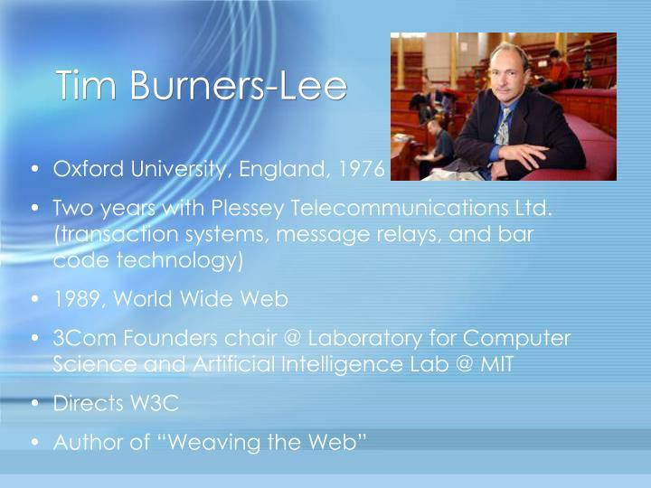 Tim Burners-Lee