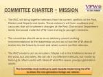 committee charter mission