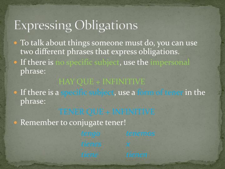 Expressing