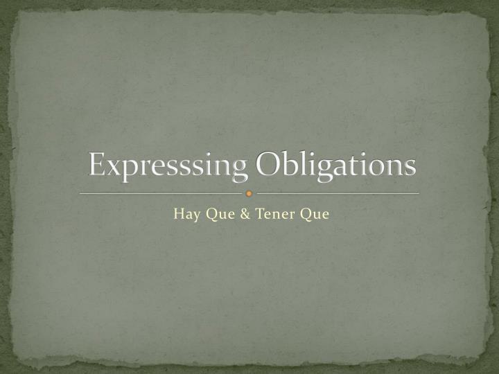Expresssing