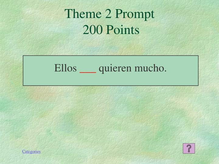Theme 2 Prompt