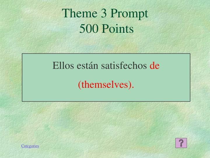 Theme 3 Prompt