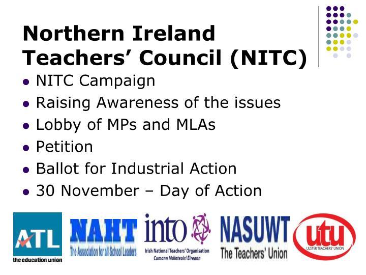 Northern Ireland Teachers' Council (NITC)