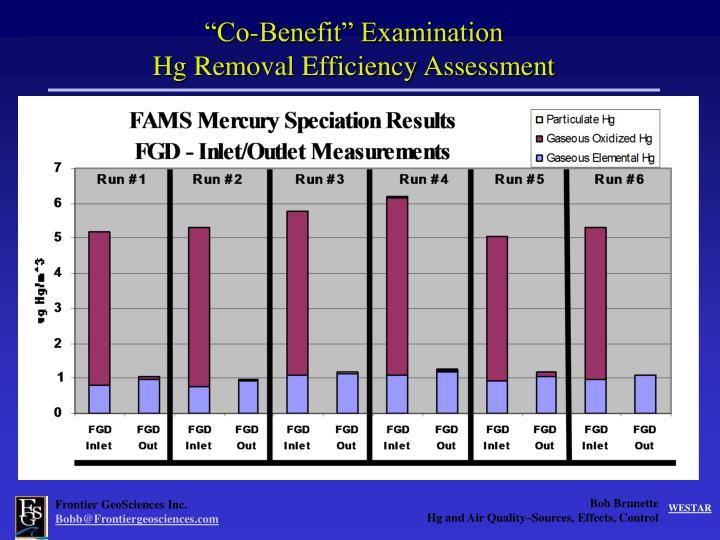 """Co-Benefit"" Examination"