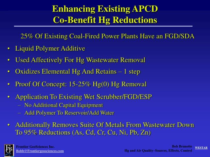 Enhancing Existing APCD