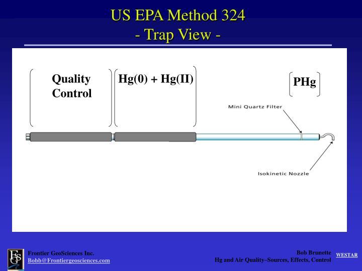 US EPA Method 324