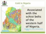 gold in nigeria