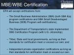 mbe wbe certification1