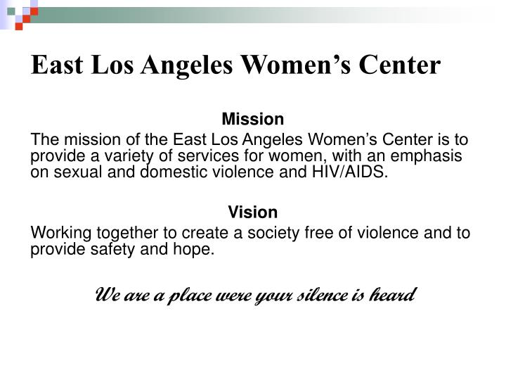 East los angeles women s center