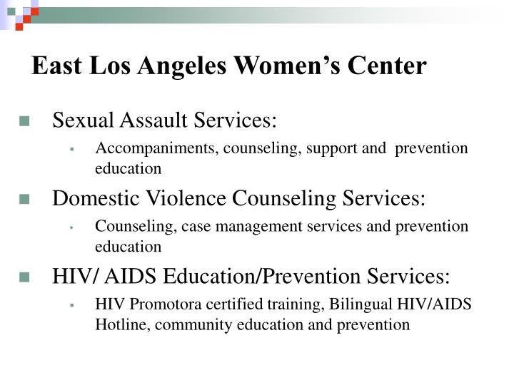 East Los Angeles Women's Center