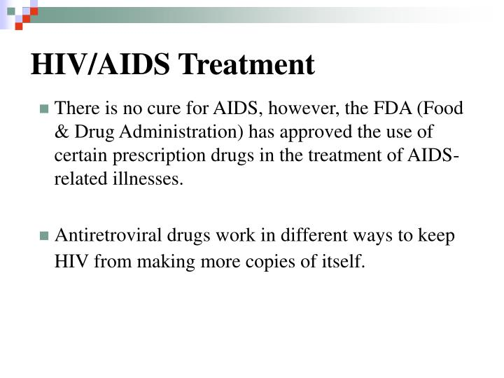 HIV/AIDS Treatment