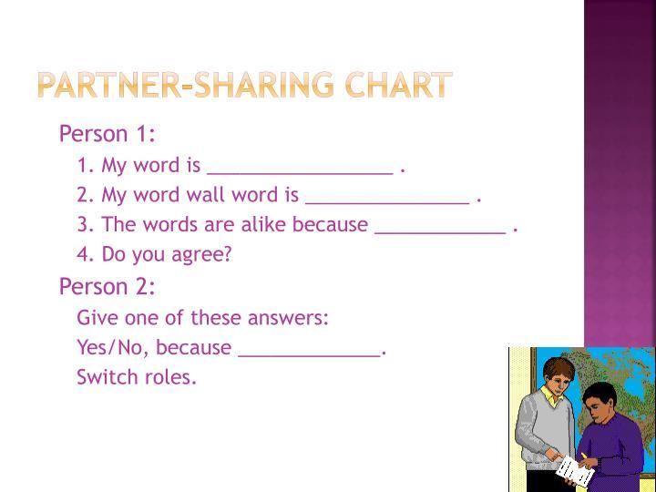 Partner-sharing Chart