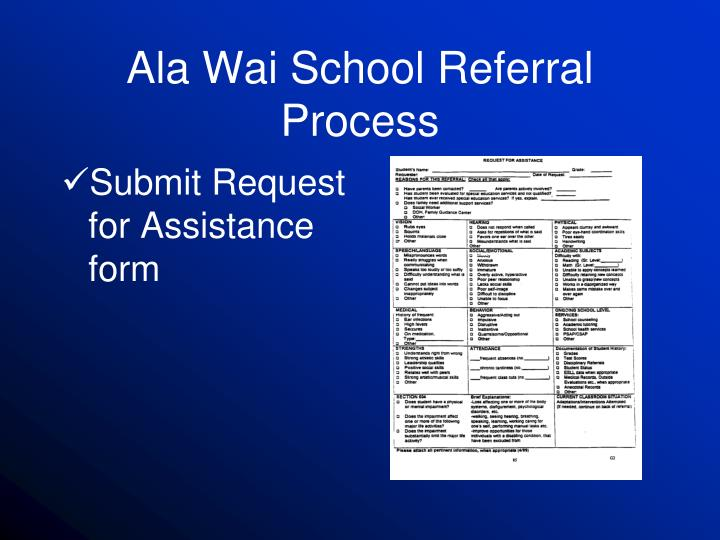 Ala wai school referral process1
