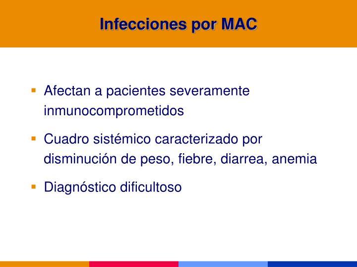 Infecciones por MAC