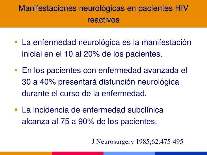 Manifestaciones neurol