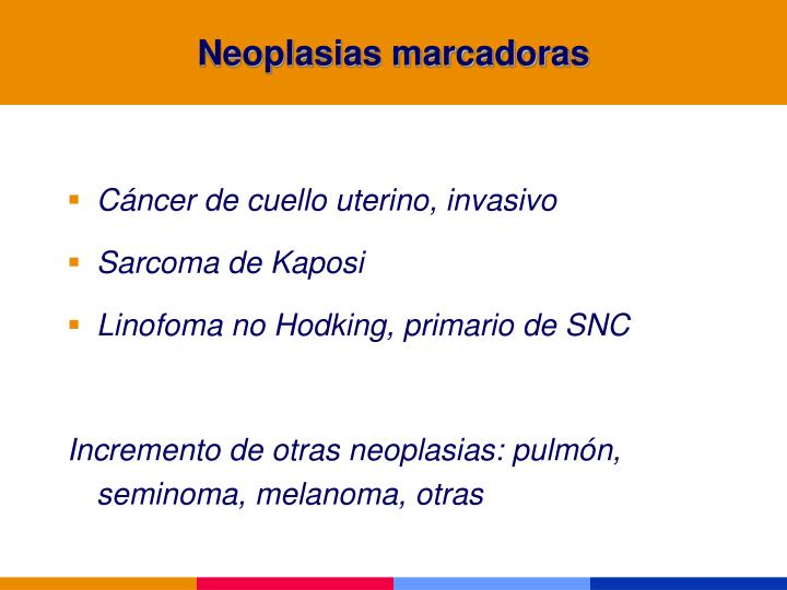 Neoplasias marcadoras