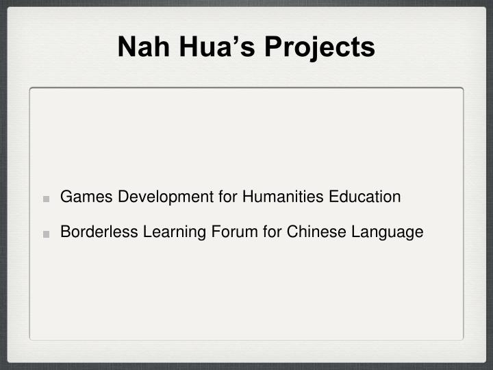Nah hua s projects