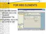 for wbs elements2