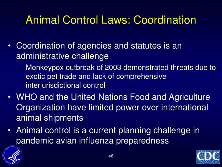 Animal Control Laws: Coordination