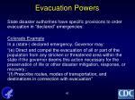 evacuation powers1